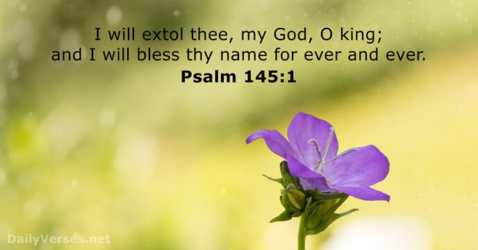 Psalm 145:1