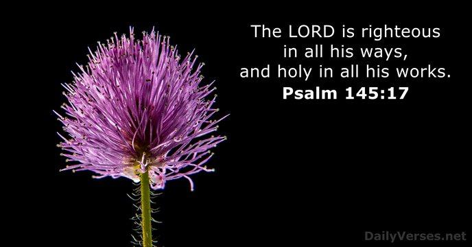 Psalms 145:17