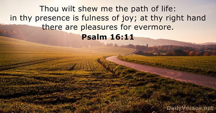 Psalm 16 11 Bedeutung