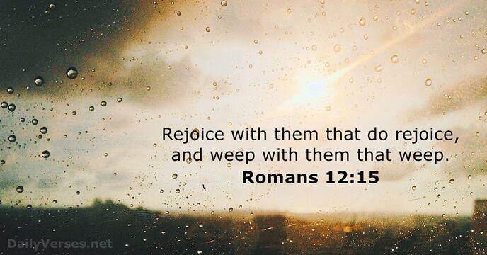 Romans 12:15