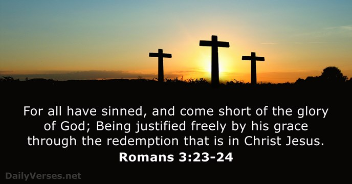 Image result for for all have sinned kjv