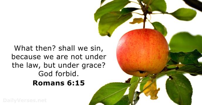 Romans 6:15