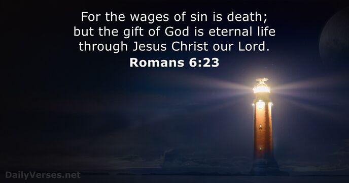 Romans 6:23