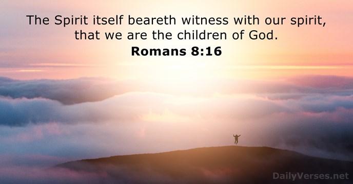 Romans 8:16