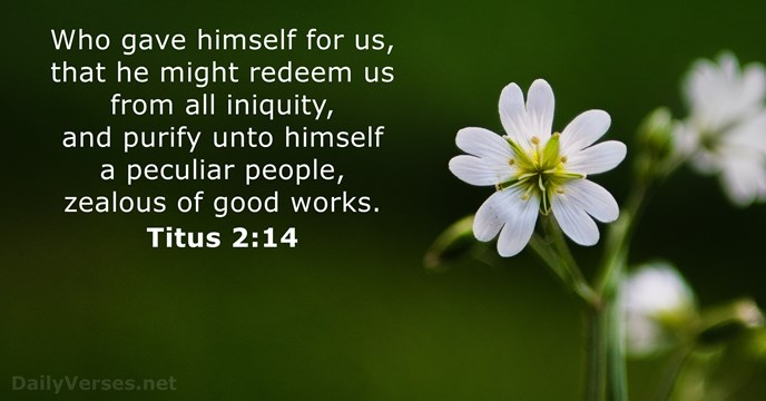 Titus 2:14