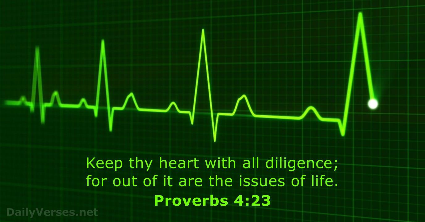 48 Bible Verses About The Heart Kjv Dailyverses Net