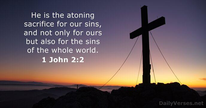 Image result for image of 1 John 2:2