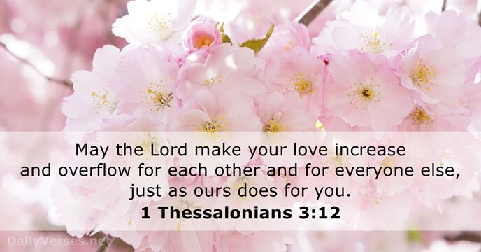 1 Thessalonians 3:12