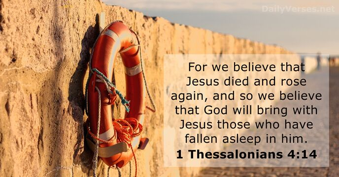 1-thessalonians 4:14