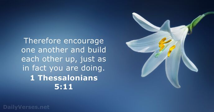1-thessalonians 5:11