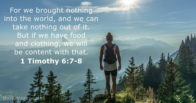 32 Bible Verses About Materialism Dailyverses