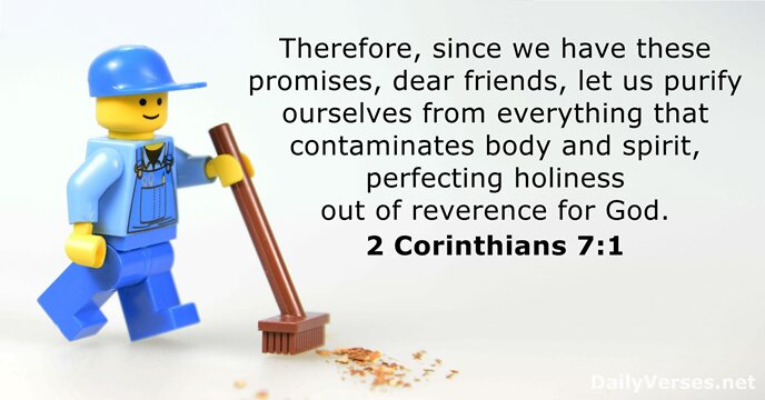 16 Bible Verses about Purification - DailyVerses net
