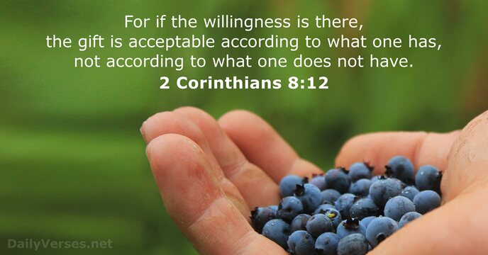 Image result for 2 corinthians 8