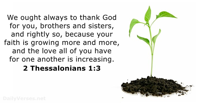 2 Thessalonians 1:3