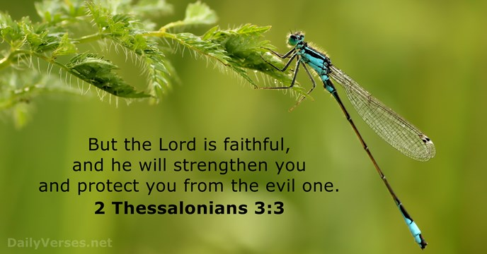 2 Thessalonians 3:3