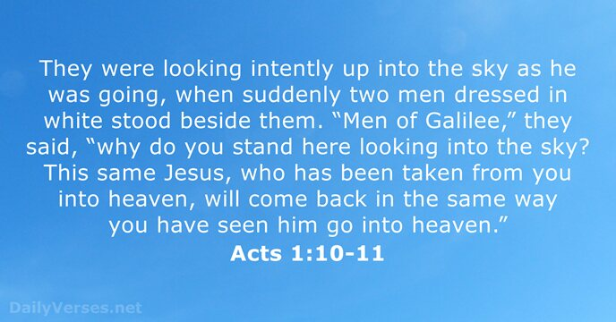acts 1:10-11