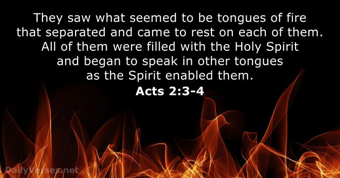 acts 2:3-4