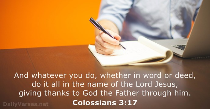 colossians 3:17