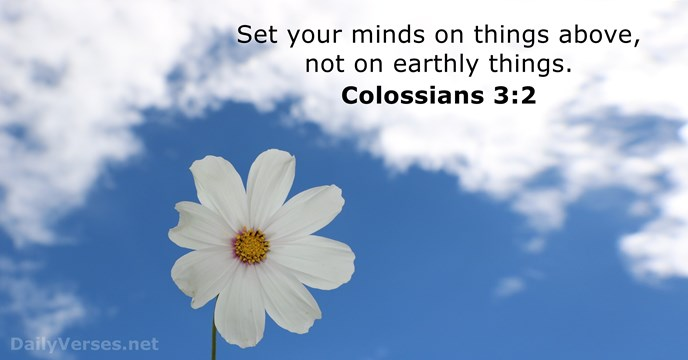 colossians 3:2