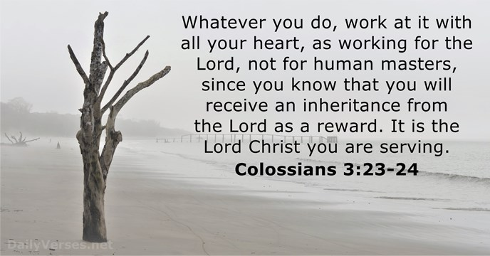 23 Bible Verses about Work - DailyVerses net