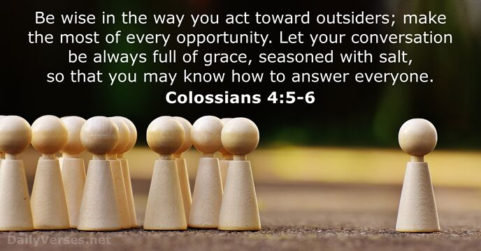 colossians 4:5-6