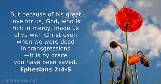 Image result for ephesians 2 4-5