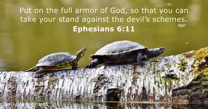 Ephesians 6:11