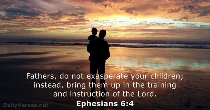 Image result for ephesians 6 4