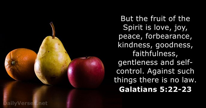 Image result for galatians 5 22-23