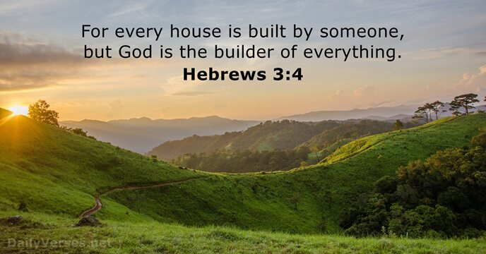 Hebrews 3:4