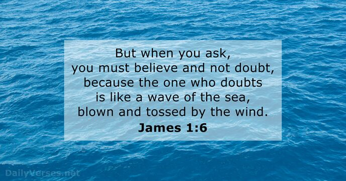 bible verses about doubt
