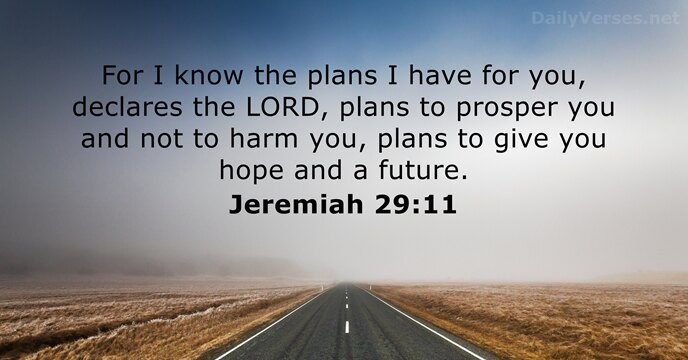 Image result for jeremiah 29 11