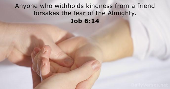 Job 6:14