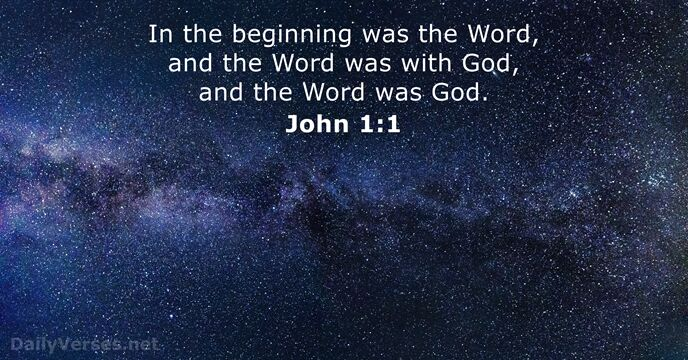 Image result for John 1:1