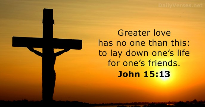 Image result for john 15:13