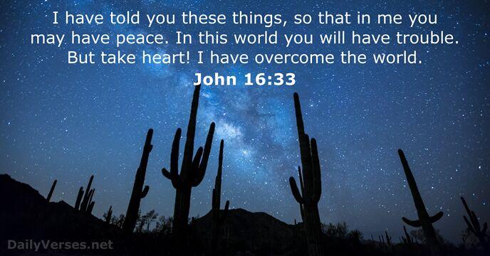 The Joy of Overcoming through Christ