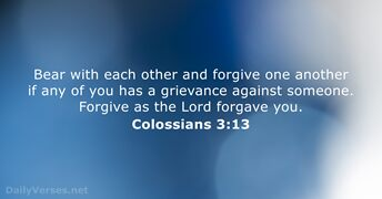 Colossians 3:13