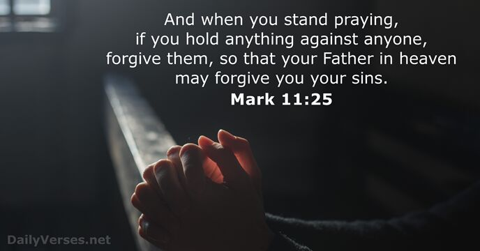 29 Bible Verses about Forgiveness - DailyVerses.net