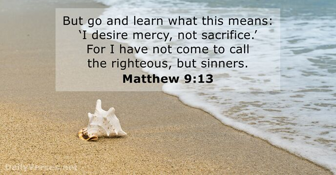 Image result for Matthew 9:13