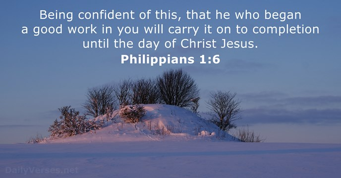 february 13 2015 bible verse of the day philippians 1 6