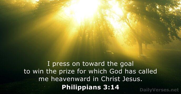 Philippians 3:14