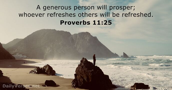 11 bible verses about generosity dailyverses 11 bible verses about generosity negle Gallery