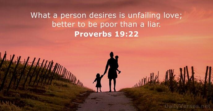Proverbs 19:22