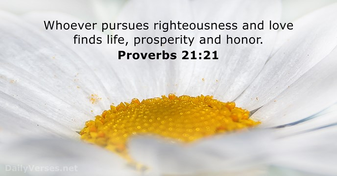 105 Bible Verses about Righteousness - DailyVerses net