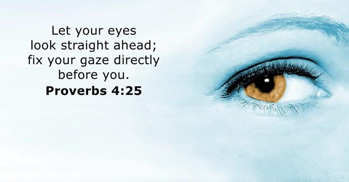 proverbs 4:25
