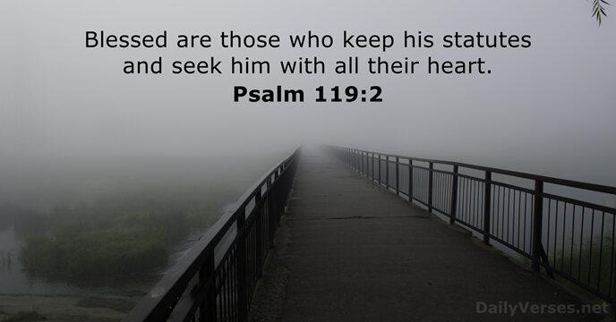 Psalms 119:2