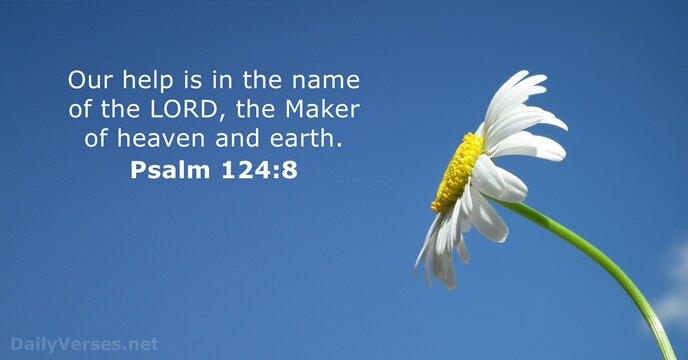 Psalms 124:8