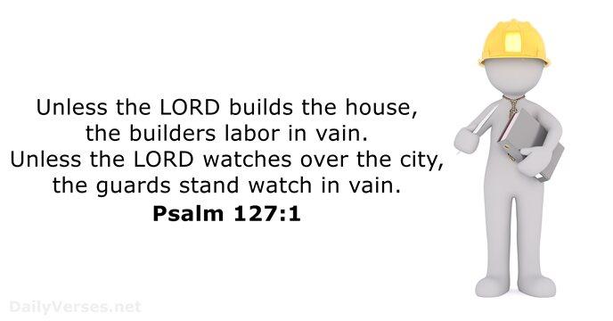 Psalms 127:1