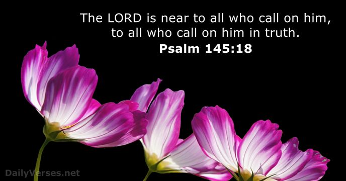 Image result for Psalm 145:18