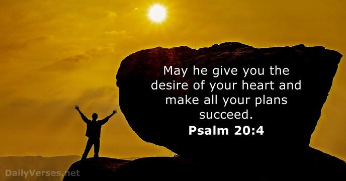 Psalms 20:4